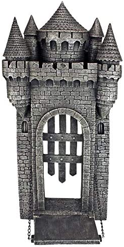 Design Toscano The Medieval Castle Gothic Wall Sculpture