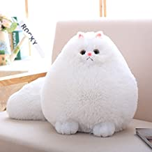 Winsterch Cat Stuffed Animal Toys Kids Gift Toy Baby Doll,Persian Cat Plush,11.8''