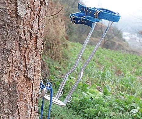 HUAWELL Juego de Escalador de árboles, Incluye Almohadillas Acolchadas, planchas para piernas, estribos