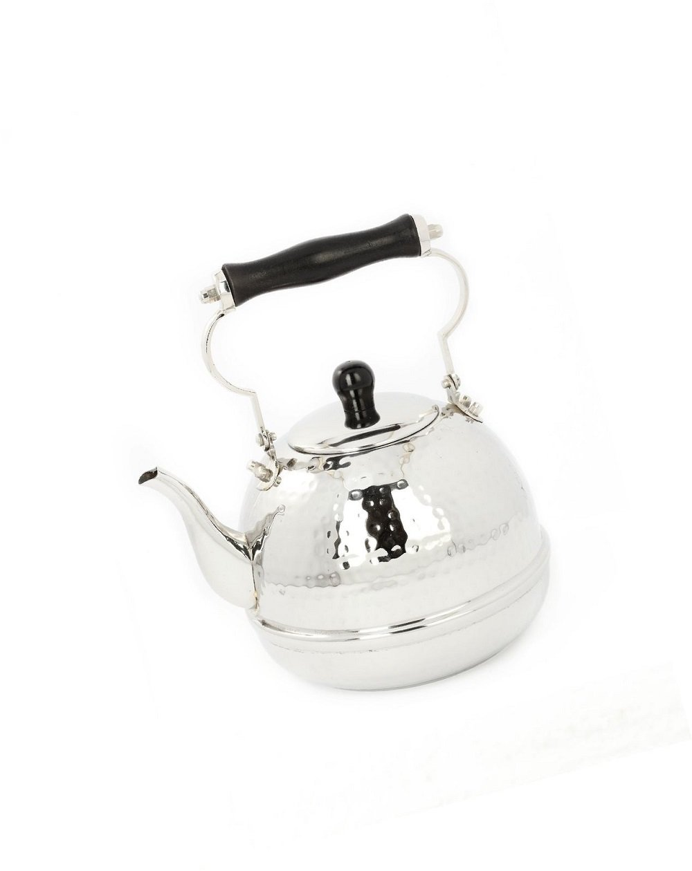 Green_Kitchen Old Dutch Hammered Stainless Steel Teakettle with Wood Handle, 2 Qt. by Green_Kitchen