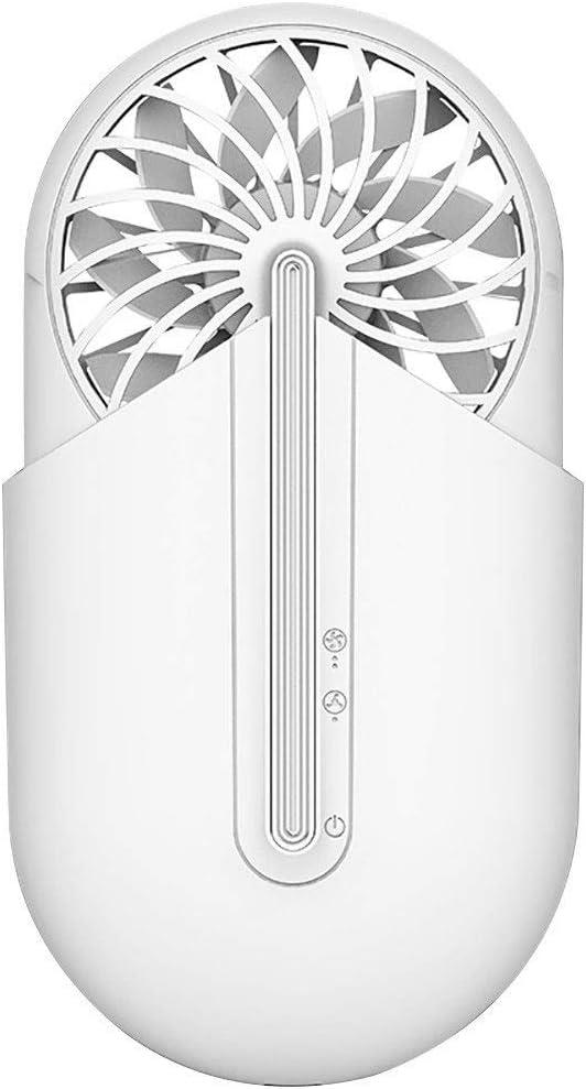 BangHaa Ventilador portátil de Mano con aromaterapia Recargable incorporada de la batería 1500mAh USB de Carga eléctrica Mini Fans Originales