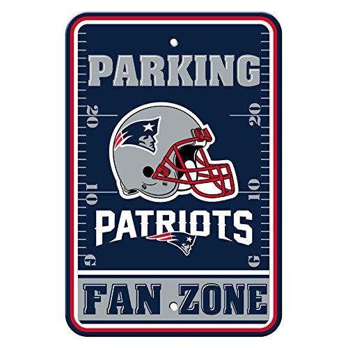 Official National Football League Fan Shop Authentic NFL Parking Sign (New England Patriots) ()