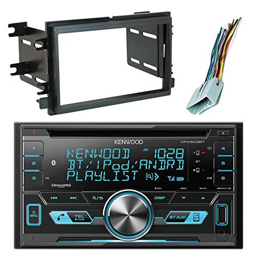 Kenwood DPX503BT Double-DIN Bluetooth CD AM/FM USB Car Audio