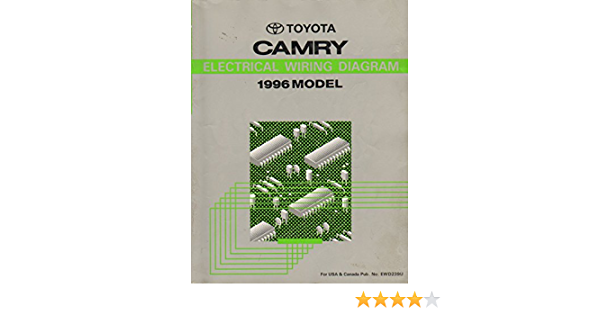 1996 Toyota Camry Electrical Wiring Diagram Shop Manual Toyota Amazon Com Books