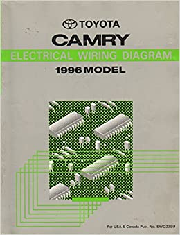 1996 Toyota Camry Electrical Wiring Diagram Shop Manual toyota