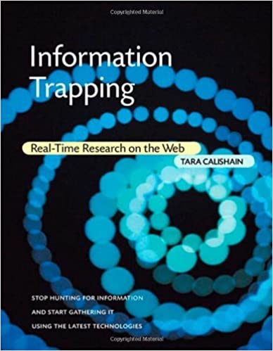 Real-Time Research on the Web Information Trapping