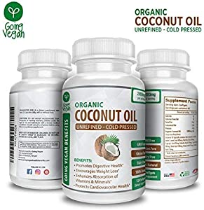 Win A Free Organic Coconut Oil Capsules 2000mg by Going Vegan - Cold...