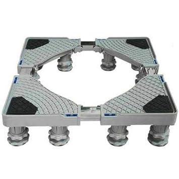 Aparatos Ajustables Base Cuadrada Ruedas Para Lavadora Refrigeradores Congelador Secadoras Humedad Moho Refrigerador Aire Acondicionado Soporte