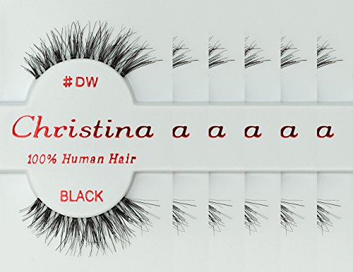 6packs Eyelashes - #DW by Christina