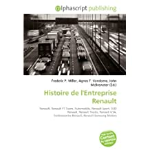 Histoire de l'Entreprise Renault: Renault, Renault F1 Team, Automobile, Renault Sport, SUD Renault, Renault Trucks, Renault USA, Technocentre Renault, Renault Samsung Motors