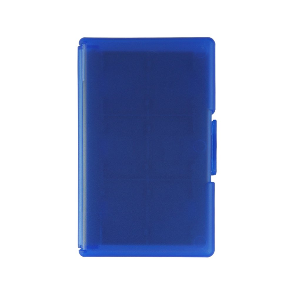 Game Card Case, HelloPower Nintendo Switch Game Card Case travel Carrying Storage Card Box Holder TF Card Case for Nintendo Switch with 24 slots (Blue) by HelloPower (Image #5)