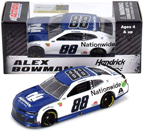 Lionel Racing Alex Bowman #88 Nationwide Insurance 2019 Chevrolet Camaro NASCAR Diecast 1: 64 Scale from Lionel Racing