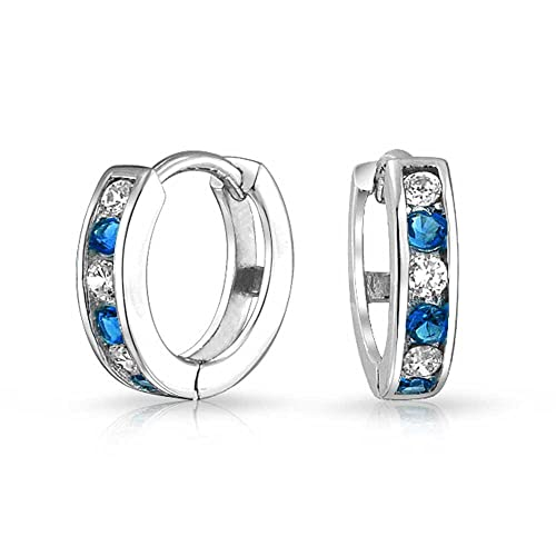 Engagement & Wedding Cubic Zirconia Sterling Silver 925 Plate White Gold Elegant Wedding Earrings Jewelry & Watches