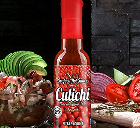 Amazon.com : Salsa Culichi (TM) Official Seafood Hot Sauce, Made With The Famously Known