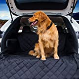 Vulpes Cargo Liner Cover for SUVs and Cars, Dog Seat Cover for Car, Waterproof Non-Slip Car Accessories. (Black) For Sale