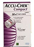 Accu-Chek Compact 51 Test Strips - For use with Compact PLUS Meters Only- PACK OF 2 BOXES