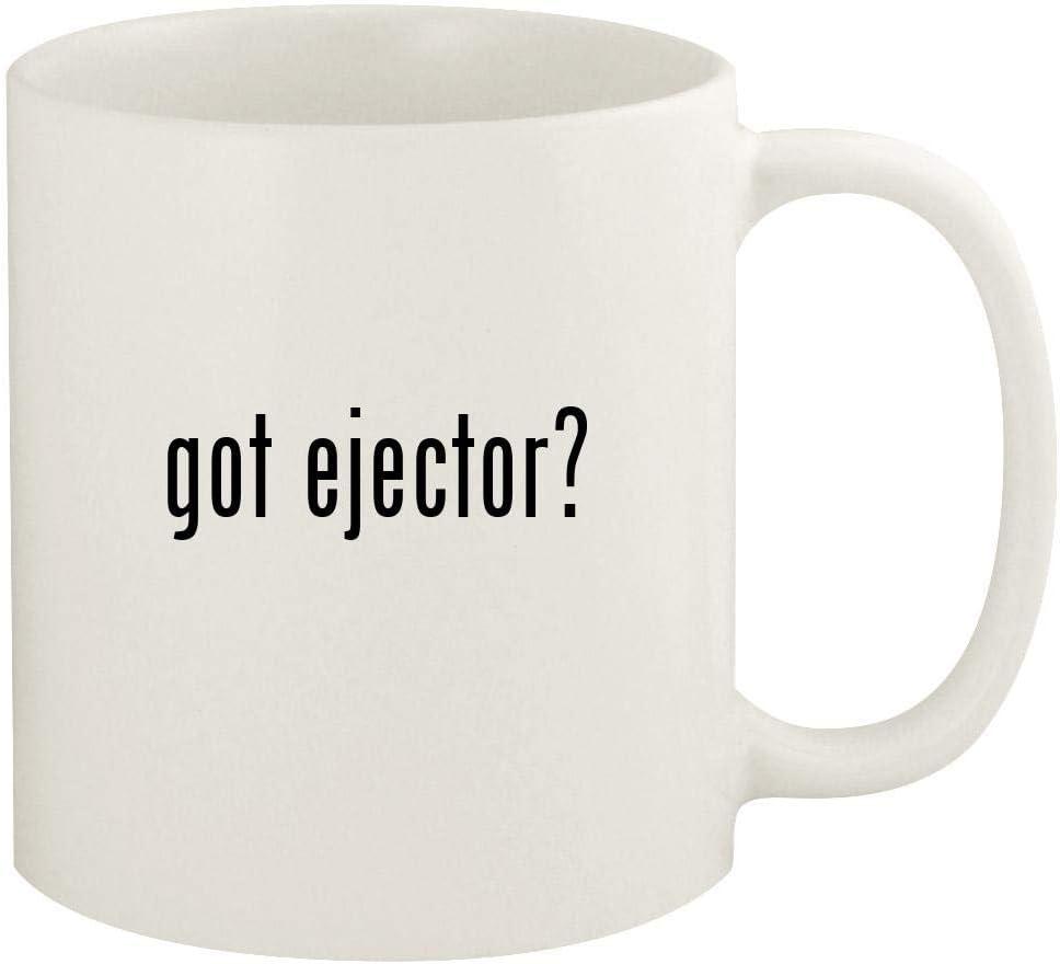 got ejector? - 11oz Ceramic White Coffee Mug Cup, White