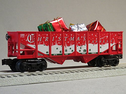 Hopper Gauge Car - LIONEL Christmas Express Hopper & Presents O Gauge