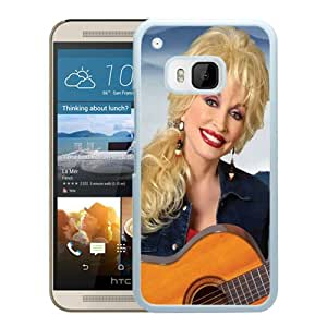 Grace Protactive Dolly Parton White Case Cover for HTC ONE M9