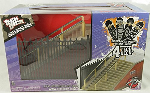 Tech Deck SK8 Parks Hollywood High + 4 Finger Boards by Tech Deck (Image #1)