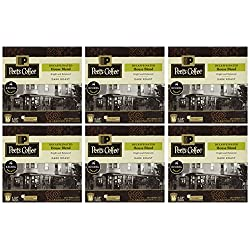 Peet's Coffee DECAF House Blend Single Cup Capsule (96 Count), 0.46oz(13.2g) each