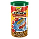 Tetra Pond Koi Vibrance Food, Premium Nutrition for Koi and Goldfish, 140g