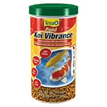 Tetra 77828-02 Pond Koi Vibrance, Fish Food, 4.94-Ounce