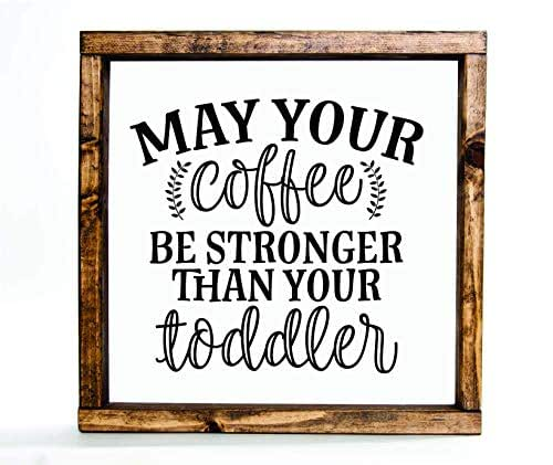 Amazon.com: Coffee Mothers Day Wall Decor Farmhouse Wood