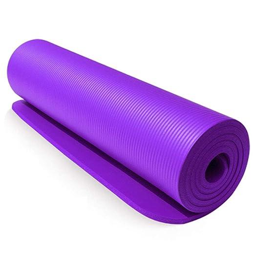 QQCR-A NBR Estera de Yoga Extra Gruesa 15 mm Antideslizante ...