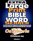 Extra Large Print BIBLE WORD SEARCH BOOK FOR