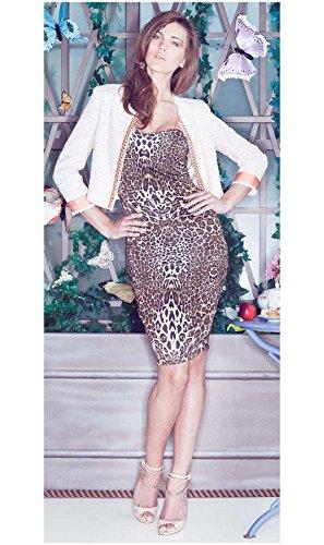 buy online 6d026 856c0 GUESS BY MARCIANO VESTITO LEOPARDATO: Amazon.it: Abbigliamento