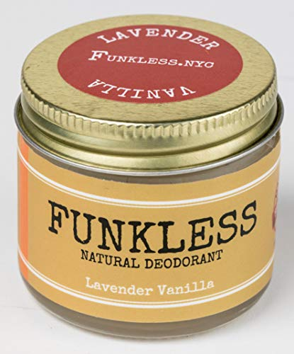 Funkless Natural Deodorant - Lavender & Vanilla, 2.1 - Sage Containers Sharps