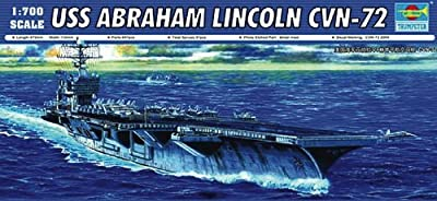 Trumpeter USS Abraham Lincoln CVN72 Aircraft Carrier (1/700 Scale)