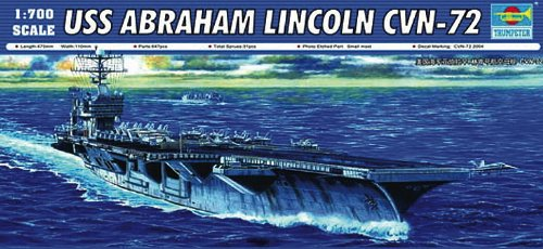 (Trumpeter USS Abraham Lincoln CVN72 Aircraft Carrier (1/700 Scale) )