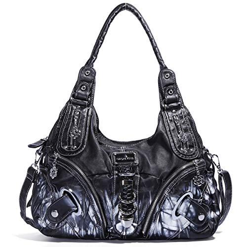 nero 2018 Angel Handbag Ak18579 Hook Barcelo nero HxCqUFw