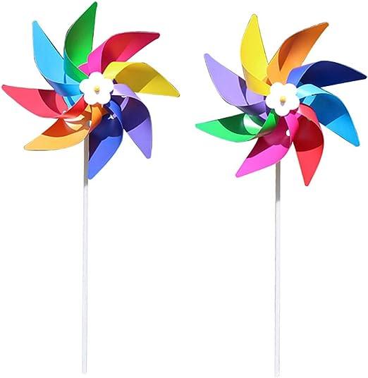 Vivitoch molinillo de viento de plástico colorido, juguete ...