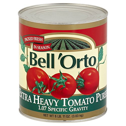 (Bell'Orto Extra Heavy Tomato Puree (6lb Tin))