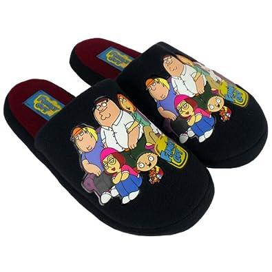 2577fe5e888852 Mens Family Guy Slipper Classic Novelty Mule Mules Slippers Size UK 11-12:  Amazon.co.uk: Shoes & Bags