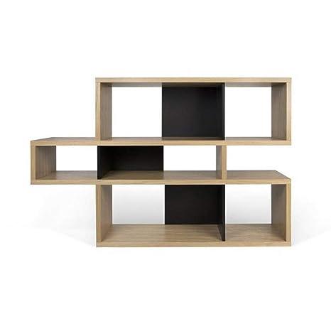 Tema Home London Biblioteca Design 3 Niveles Roble con Fondo ...