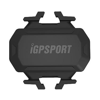 iGPSPORT C61 (Versión Española) - Sensor de Cadencia inalámbrico Ant+/2.4G y Bluetooth 4.0 Ciclismo y Bicicleta. Compatible con Ciclo computadores GPS ...
