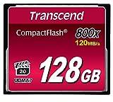 Transcend 128GB CompactFlash Memory Card 800x (TS128GCF800)