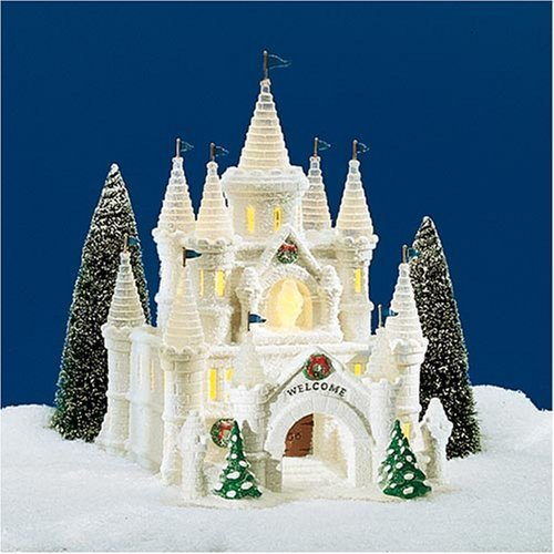 Department 56 Snow Village's Snow Carnival Ice Palace - Retired by Baby Cakes