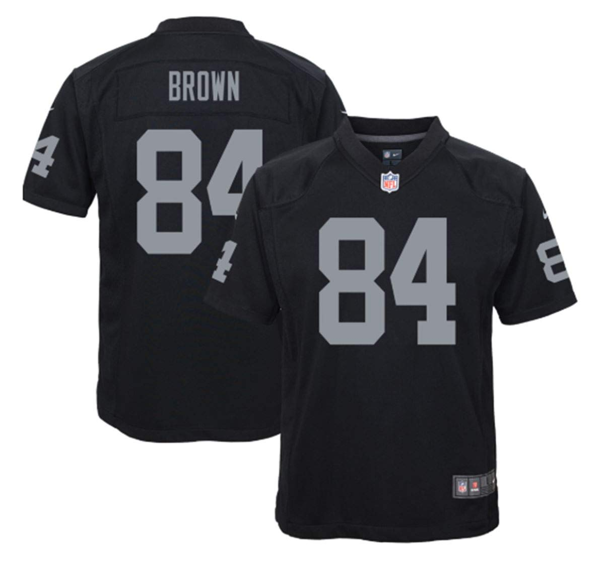 watch 3a123 65c77 Amazon.com : Nike Antonio Brown Oakland Raiders Youth Team ...