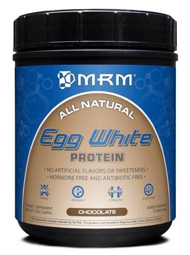 MRM EGG ALL NATURAL protéine de blanc, chocolat, 12 onces CANISTER