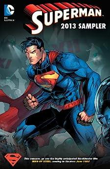 Superman Sampler 2013 by [Straczynski, J. Michael, Geoff Johns, Richard Donner, Brian Azzarello]