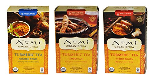 Numi Organic Turmeric Blends Sampler