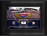 "Houston Astros Framed 5"" x 7"" Stadium Collage with a Piece of Game-Used Baseball - MLB Team Plaques and Collages"