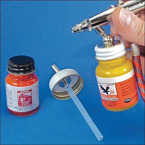 28mm Paint Bottle Airbrush Adapter