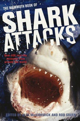 The Mammoth Book of Shark Attacks (Tapa Blanda)