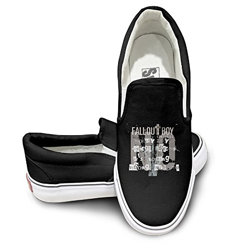 Rebecca Fall Out Boy Centuries Activewear Unisex Flat Canvas Shoes Sneaker 38 Black The Round Toe And Manmade Sole Will Keep Your Feet Feeling Comfortable And The Quality Canvas Materials Will Provide Years Of Wear.